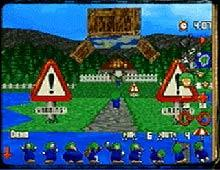 3D Lemmings screenshot