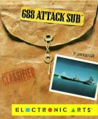 688 Attack Sub box cover