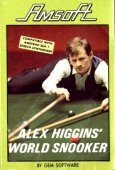 Alex Higgins World Snooker box cover