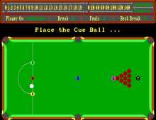 Alex Higgins World Snooker screenshot