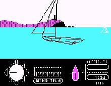 American Challenge: Sailing Simulation, The screenshot