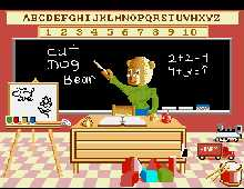 Barney Bear Goes to School screenshot