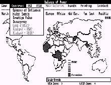 Balance of Power (1985 edition) screenshot