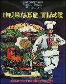 Burger Time box cover