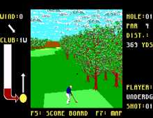 California Pro Golf screenshot