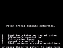 Crime and Punishment screenshot