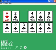 Card Puzzles screenshot