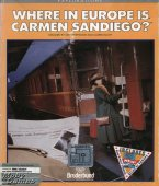 Where in Europe is Carmen Sandiego? box cover