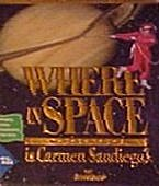 Where in Space is Carmen Sandiego? box cover