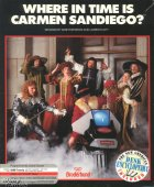 Where in Time is Carmen Sandiego? box cover