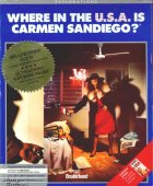 Where in The USA is Carmen Sandiego? (Enhanced) box cover