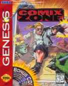 Comix Zone box cover