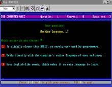 Computer Quiz screenshot