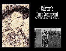 Custer's Last Command box cover