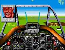 Chuck Yeager's Air Combat screenshot