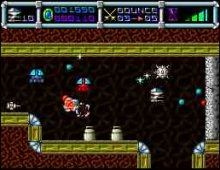 Cybernoid screenshot
