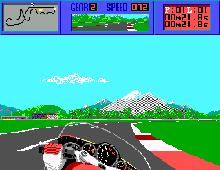 Cycles: International Grand Prix Racing, The screenshot