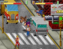 Double Dragon Fists of Rage screenshot