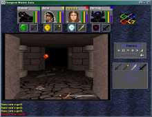 Dungeon Master Java screenshot