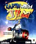 Earthworm Jim box cover