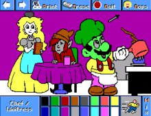 Electric Crayon: World of Nintendo screenshot