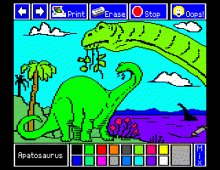 Electric Crayon: Dinos are Forever screenshot