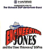Engineering Jones and the Time Thieves of DSPea box cover