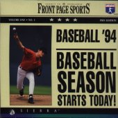 Front Page Sports Baseball Pro box cover