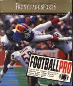 Front Page Sports: Football Pro '95 box cover