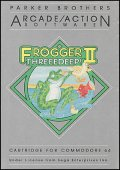 Frogger II: Three Deep box cover