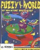 Fuzzy's World of Miniature Space Golf box cover