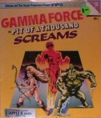 Gamma Force in: Pit of A Thousand Screams box cover