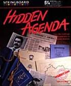 Hidden Agenda box cover