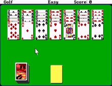 Hoyle Official Book of Games Volume 2: Solitaire screenshot