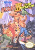 Ikari Warriors III: The Rescue box cover