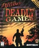 Jagged Alliance: Deadly Games box cover