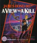James Bond 007 in: A View to A Kill box cover
