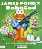 James Pond 2: Codename: RoboCod box cover