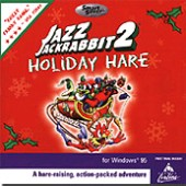 Jazz Jackrabbit 2: Holiday Hare box cover