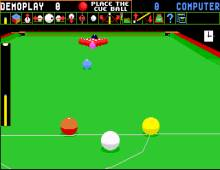 Jimmy White's Whirlwind Snooker screenshot
