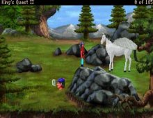 King's Quest II: Romancing the Stones screenshot