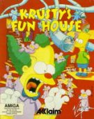 Krusty's Super Funhouse box cover