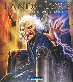 Lands of Lore: The Throne of Chaos box cover