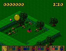 Lemmings Paintball screenshot
