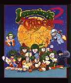 Lemmings 2: The Tribes box cover