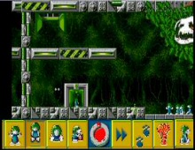Lemmings Chronicles, The screenshot