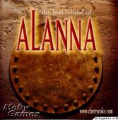 Lost Island of Alanna, The box cover