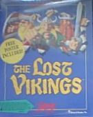 Lost Vikings, The box cover