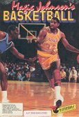 Magic Johnson's Basketball box cover
