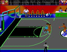 Magic Johnson's Basketball screenshot